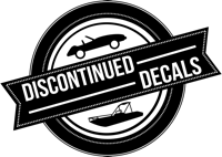 Discontinued Decals