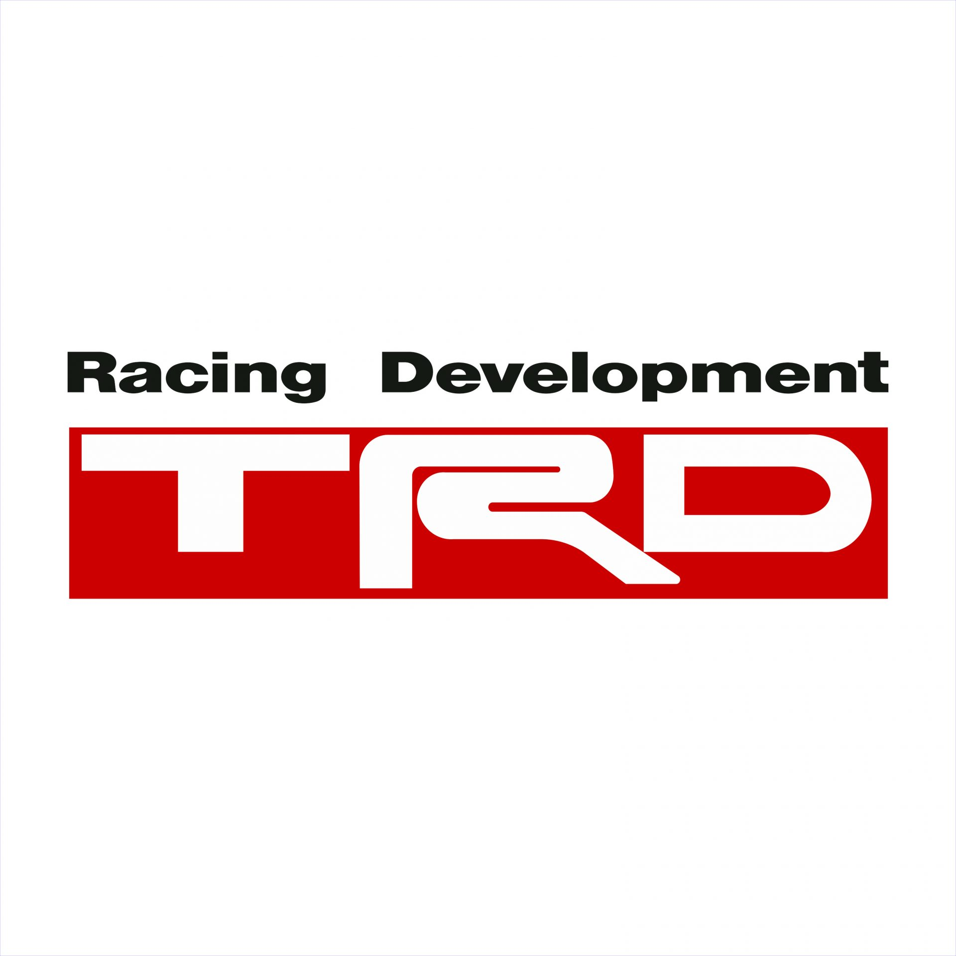 Toyota Racing Development Trd Colour Decal Discontinued Decals